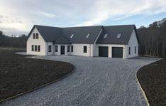 Modern Bungalow Exterior, Bungalow House Design, Dream House Exterior, Modern House Design, Dormer House, Dormer Bungalow, Bungalow Renovation, Farmhouse Renovation, Esh Winning