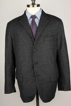 RARE Steven Alan Grey Wool Cashmere Blend USA 42 R mens Sport Coat