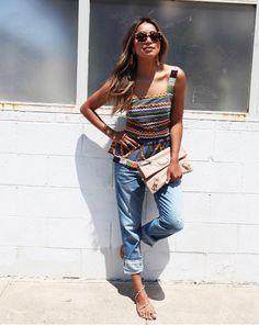 Die zierliche Julie Sariñana von sincerelyjules.com trägt nur Kleidung, die ihr perfekt passt