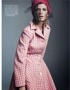 cool pink | vogue germany | october 2013
