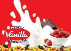 New vanilla ice cream | Ice cream factory | Zonalinfo