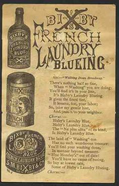 French laundry soap ad