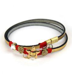 So Coquette #dog golden necklace | Collana natalizia dorata per cani #Chic4dog