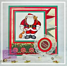 Dream Laine: Father Christmas - #crafterscompanion #spectrumnoir