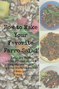 Easy Recipe: Farro Salad