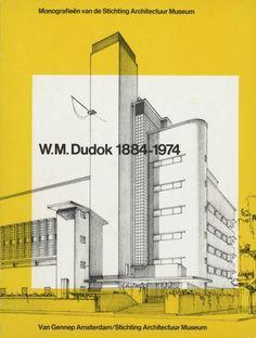 Dudok Book Design, Stichting Architectuur Museum Amsterdam, Designed by Arlette Brouwers and Wim Crouwel, 1980 Typography Poster Design, Lettering Design, Portfolio Layout, Portfolio Design, Presentation Layout, Editorial Layout, Advertising Design, Book Design, Amsterdam