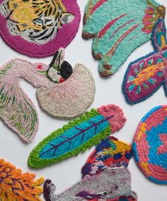 Iron-On Patches Get All Growned Up #refinery29  http://www.refinery29.com/ps-i-made-this-patches