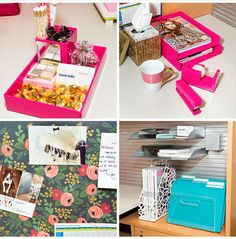 Enjoyable Before After A Cubicle Goes From Blah To Glam Stationary Largest Home Design Picture Inspirations Pitcheantrous