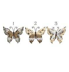 Home decor 4 Seasons - Tin Butterfly Clip, $9.95 (http://www.homedecor4seasons.com/tin-butterfly-clip/)