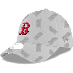 aff699890bdf Boston Red Sox New Era Women s 2018 World Series Champions Trophy 9TWENTY  Adjustable Hat – Gray