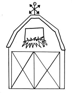 Free Printable Barn Templates Barn Coloring Pages This Is Your - Coloring Page Ideas Tractor Coloring Pages, Farm Animal Coloring Pages, Coloring Book, Coloring Sheets, Colouring, Farm Animals Preschool, Farm Animal Crafts, Fall Preschool, Barn Animals