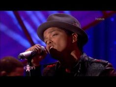 "The Ellen DeGeneres Show; Bruno Mars ""Just the Way You Are""; 10/14/2010"