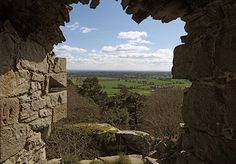 View from Beeston Castle.  Top ten historic English views