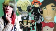 LOOK AT MY UGLY PLUSHIES! 59 custom plushies and counting! Oldest to new...