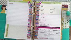 Filofax Kikki K Printable Reading Journal Insert A5 Half