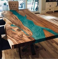 Amazing epoxy resin table types and how to make it step by step, stylish designs. - Table designs - Amazing epoxy resin table types and how to make it step by step, stylish designs of the epoxy table - Epoxy Table Top, Epoxy Wood Table, Diy Table Top, Diy Resin Table, Epoxy Resin Wood, Diy Epoxy, Live Edge Wood, Live Edge Table, Ocean Design