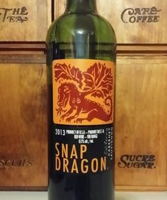 red wine snap dragon 2013 sonoma california usa dr jims wine reviews authentic oak red wine