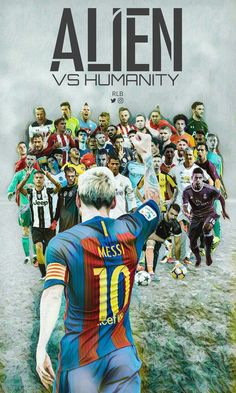 Messi the alien Football Is Life, Best Football Team, Football Players, Arsenal Fc, Neymar, Messi Vs Ronaldo, Ronaldo Real, Cristiano Ronaldo, Lionel Messi Barcelona