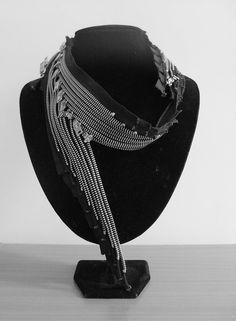 amazeballz zip necklace by nz designers dmonic intent...i lurve this