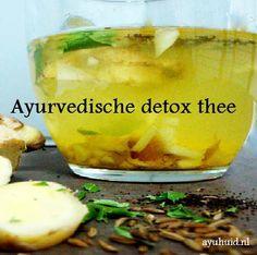 Wat is een Ayurvedische detox thee? Detox Diet Drinks, Detox Juice Recipes, Detox Juices, Juice Cleanse, Cleanse Detox, Cleanse Recipes, Diet Detox, Diet Recipes, Stomach Cleanse
