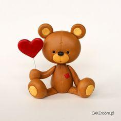 CAKEroom.pl - teddy bear tutorial