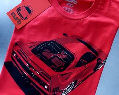 Curb F40 T-Shirt Great gift for Dad or the car Guy in your life!