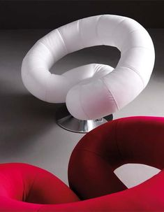 Futuristic Furniture, Polis Armchair By Studio Batoni Funky Furniture, Unique Furniture, Luxury Furniture, Furniture Decor, Furniture Design, Fabric Armchairs, Swivel Armchair, Futuristic Furniture, Futuristic Design
