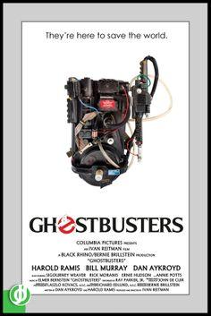 GHOSTBUSTERS. Poster designed by Jidé.