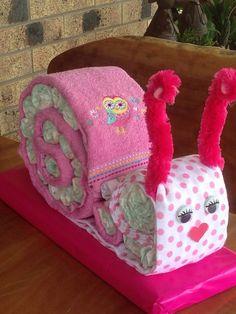 Nappy cake snail