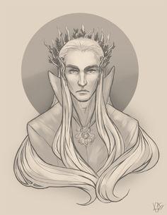 King of Mirkwood by mirime.deviantart.com on @deviantART