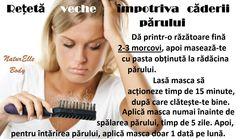 Rețetă veche împotriva căderii părului Male Pattern Baldness, Hair Masque, Stop Hair Loss, Hair Raising, Good To Know, Body Care, Beauty Hacks, Hair Care, Hair Beauty