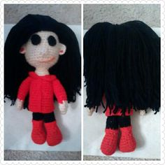 My first attempt at a Coraline doll...contact me if interested.$12