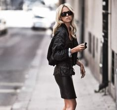 Chic and Silk: GET INSPIRED: Bomber Jacket!