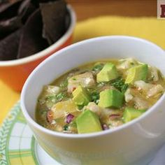 Authentic Mexican food: Cebiche Verde (Molli Mexico City) on BigOven: A Mexican Classic, cebiche verde (or ceviche depending on the region) is simple and full of flavor. You can serve it with tostadas or saltines on the side. Enjoy!