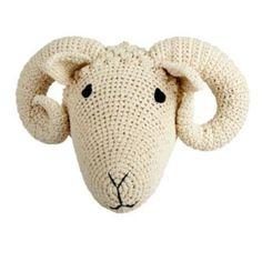 Trophée bélier / mouton - naturel ANNE-CLAIRE-PETIT l little-home.fr