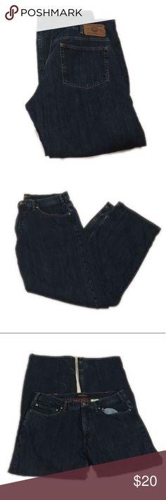 Eddie Bauer men's jeans with flannel lining. 36x32 Eddie Bauer men's jeans with flannel lining. Size: 36x32 Eddie Bauer Jeans Straight
