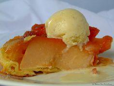 Tarte tacoing de Philippe Conticini - Tarte tatin mi pommes mi coings