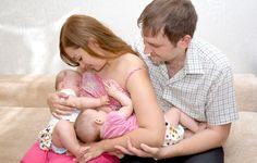 Breastfeeding Twins