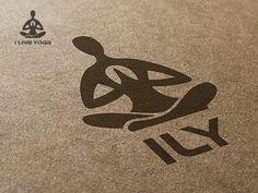 I Live Yoga - Logo / Identity Design Gert van Duinen