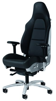 Porsche 911 Office Chair. (Click on photo for high-res. image.) Photo found here: http://press.porsche.com/media/gallery2/v/photos/press_release_images/drivers_selection_home_office/911+Office+Chair.jpg.html
