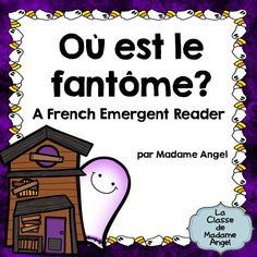 This fun emergent reader is a great addition to your Halloween activities. Students need to read the sentences and glue the ghosts in the correct p. Halloween Vocabulary, Halloween Activities, Core French, French Class, French Education, Emergent Readers, Teaching French, Learn French, School Fun