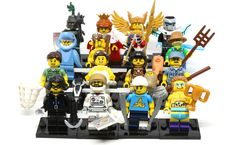 I am extremely honoured to be able to bring you my review of LEGO's latest Series 15 Minifigures! The new series of minifigures have started to show up around the world in mid-January 2016, s…