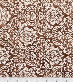 Premium Quilt Fabric- Brown Damask: premium quilting fabric: quilting fabric & kits: fabric: Shop | Joann.com