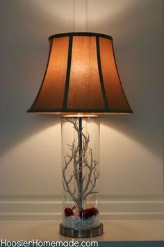 Fillable Lamps: Seasonal Decor
