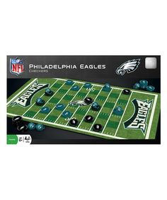 Philadelphia Eagles Checkers Set