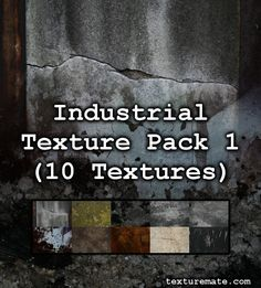 Here is a collection of 10 dark, dreary industrial textures all taken with a 10 Megapixel DSLR camera. There is some metal, rust, and cement in there which makes a great background for an industrial art project. Great Backgrounds, Wild Creatures, Texture Packs, Article Design, Cute Images, Storytelling, Brushes, Art Projects, Packing
