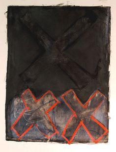 Cold Wax X Series by Karen L Darling, via Flickr