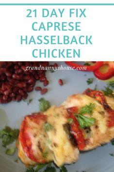 Split Chicken Breast, Baked Chicken Breast, Boneless Chicken Breast, 21 Day Fix Menu, 21 Day Fix Diet, Hasselback Chicken, Caprese Chicken, Thing 1, Healthy Recipes