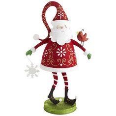 Glitter Woodland Santa found at Pier 1.