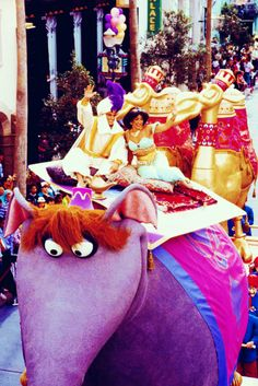 From the Aladdin Parade that used to be at Disney when the movie came out in 1992.